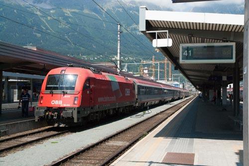 World Railways - Rail Journey - Bolzano-Innsbruck via the ...