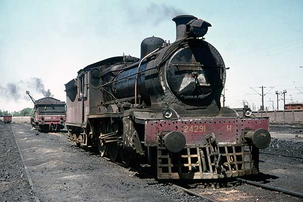 Indian Railways (WR) H class 4-6-0s 24291 & 24293 at Baroda