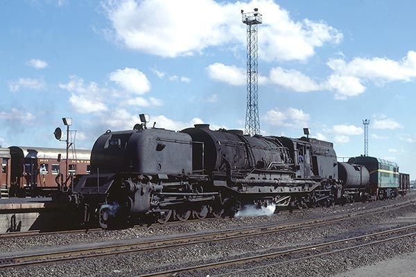 South African Railways GMA class Garratt 4060 at Bulawayo