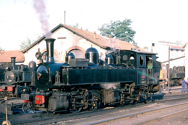 Portuguese Railways (CP) 0-4-4-0T Mallet E163 at Mirandela