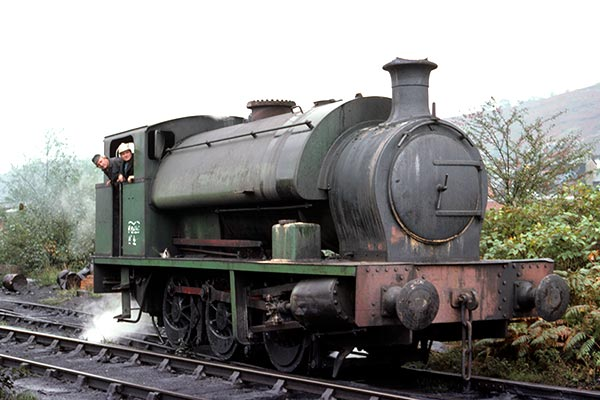 Mountain Ash Colliery 0-6-0ST no.1 (Hudswell Clarke, 1955)