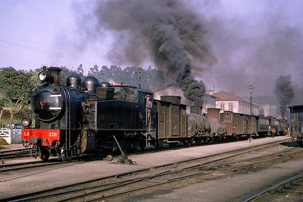 Portuguese Railways 2-8-2T E131 at Sernada do Vouga