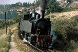 Metre gauge steam Regua to Chaves