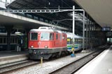 Trains at Luzern and Olten