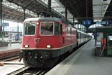 International trains at Basel SBB