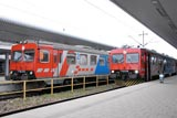 Vinkovci station afternoon trains