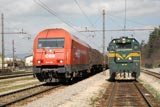Big Slovenian diesels at Borovnica