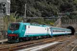 Trains at Levanto & Monterosso south of Genova