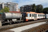 Catania, Sicily - private and mainline railways