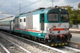 Padova trains - mainly D445 class diesels