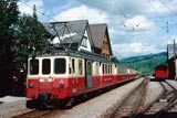 St Gallen metre gauge trains