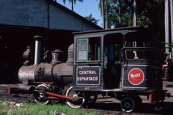 Central Espartaco sugar mill - no.1 Porter 0-4-2 of 1884