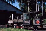 Central Espartaco sugar mill steam locos